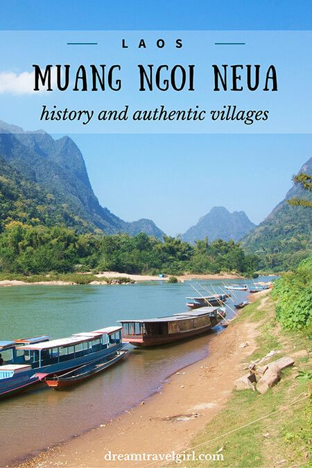 Muang Ngoi in northern Laos: sad history and authentic villages