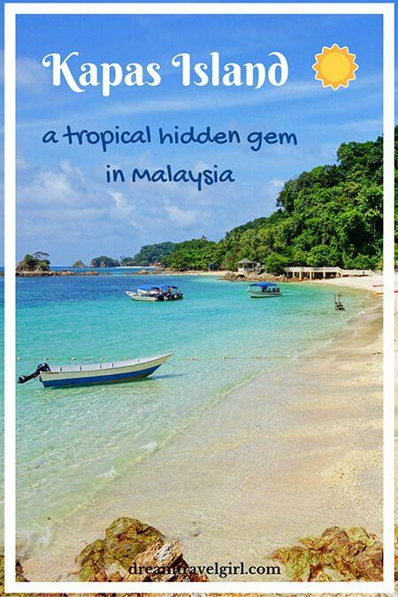Kapas Island, a tropical hidden gem in Malaysia
