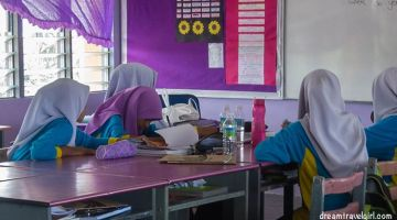 Volunteering in a school in rural Malaysia