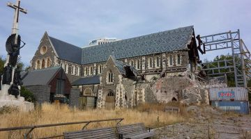 Christchurch: destruction, creativity and hope