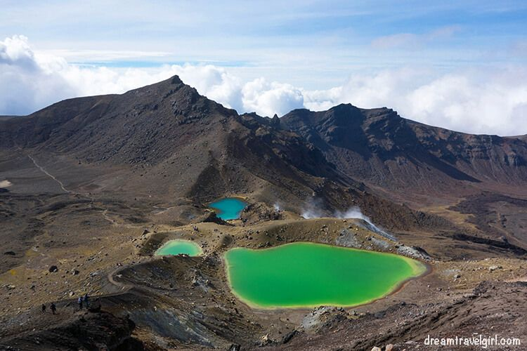 Emerald Lakes, Tongariro Alpine Crossing