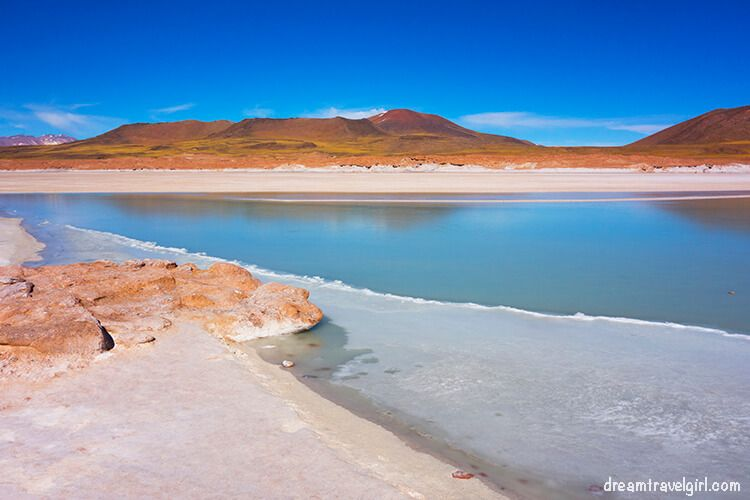 Salar de Aguas Calientes (Hot water Salt Flat)