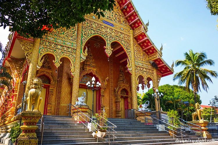 Temple in Phrao