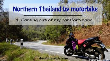 Northern Thailand by motorbike (1): coming out of my comfort zone
