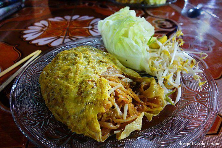 Pad Thai in Mae Sariang