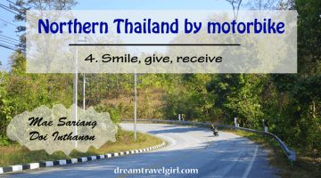 Northern Thailand by motorbike (4): smile, give, receive