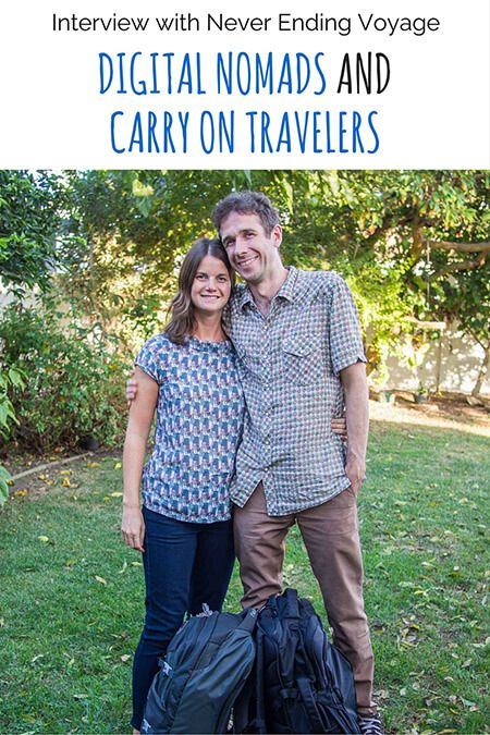 Erin and Simon, Carry on travelers