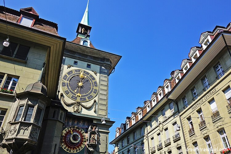 Clock tower in Bern