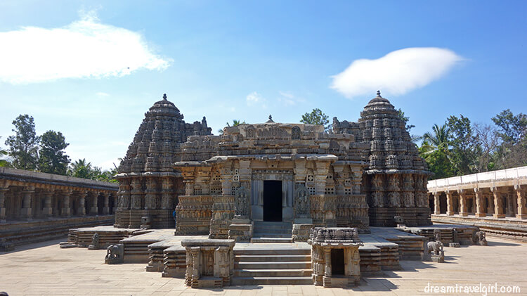 Places to visit in South India: Somanathapura, Halebeedu and Belur temples, Karnataka