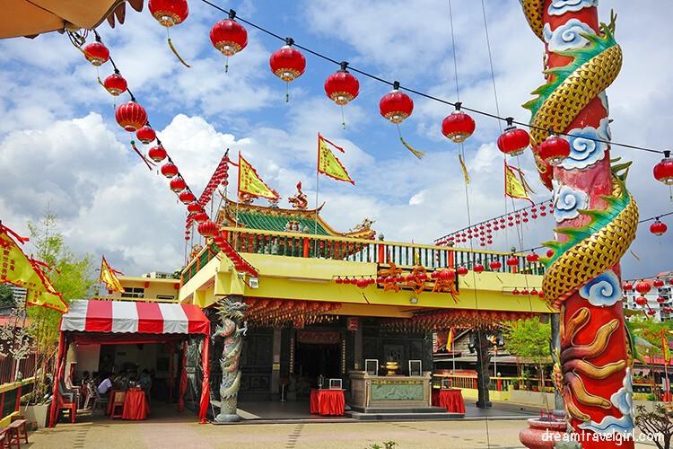 Hean Boo Thean Temple, Georgetown, Penang, Malaysia