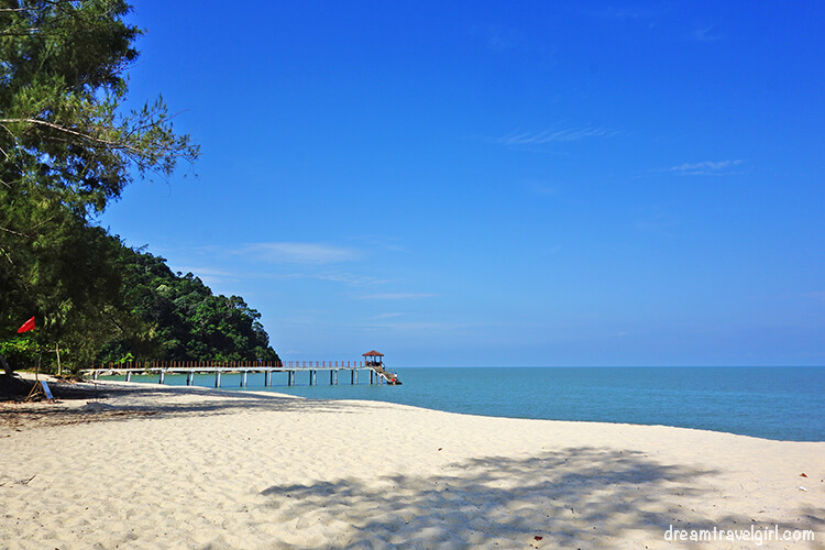 Kerachut Beach in Penang National Park