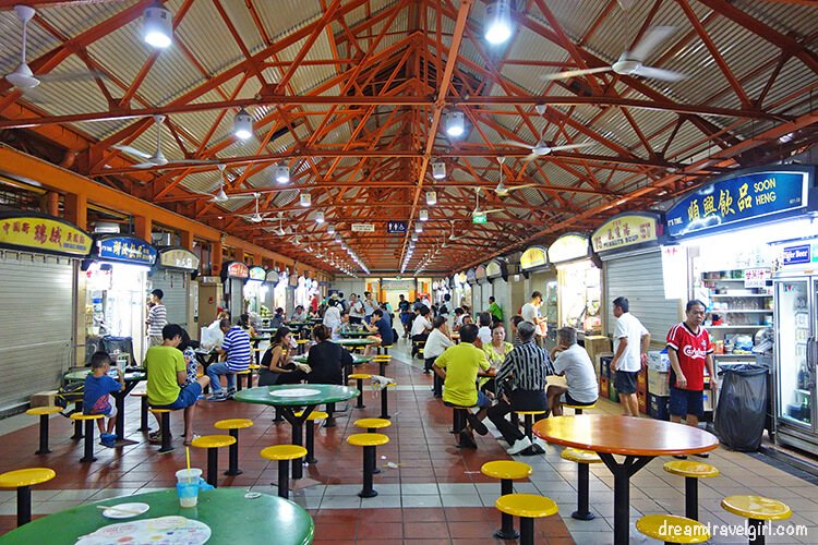 Hawker centres, Singapore