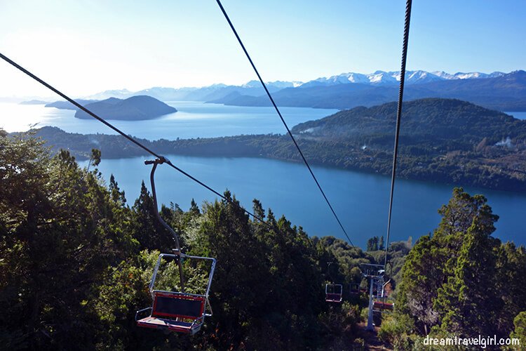 Bariloche Argentina: the chair lift to Cerro Campanario