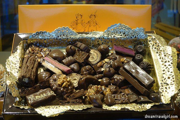 Chocolates in Bariloche, the Switzerland in South America