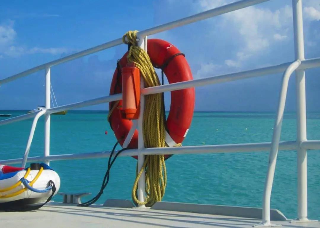 View of Boat De Palm Tours Snorkel Adventure Catamaran Tour