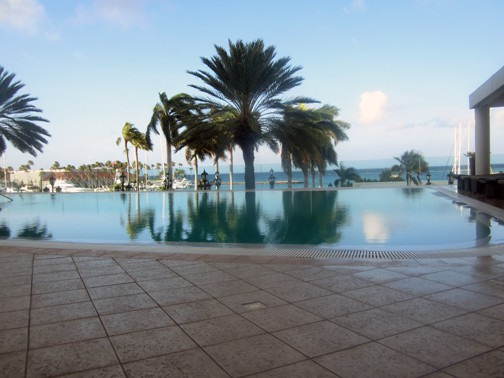 Pool with a view Renaissance Marina Resort