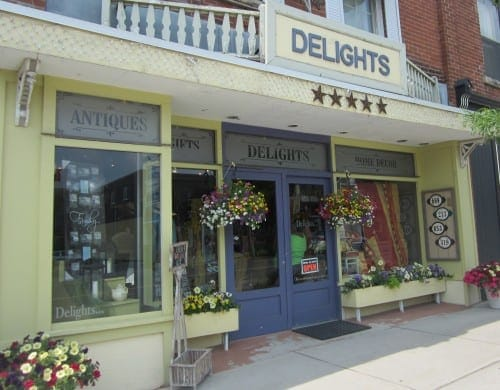 Delights erin ontario store front