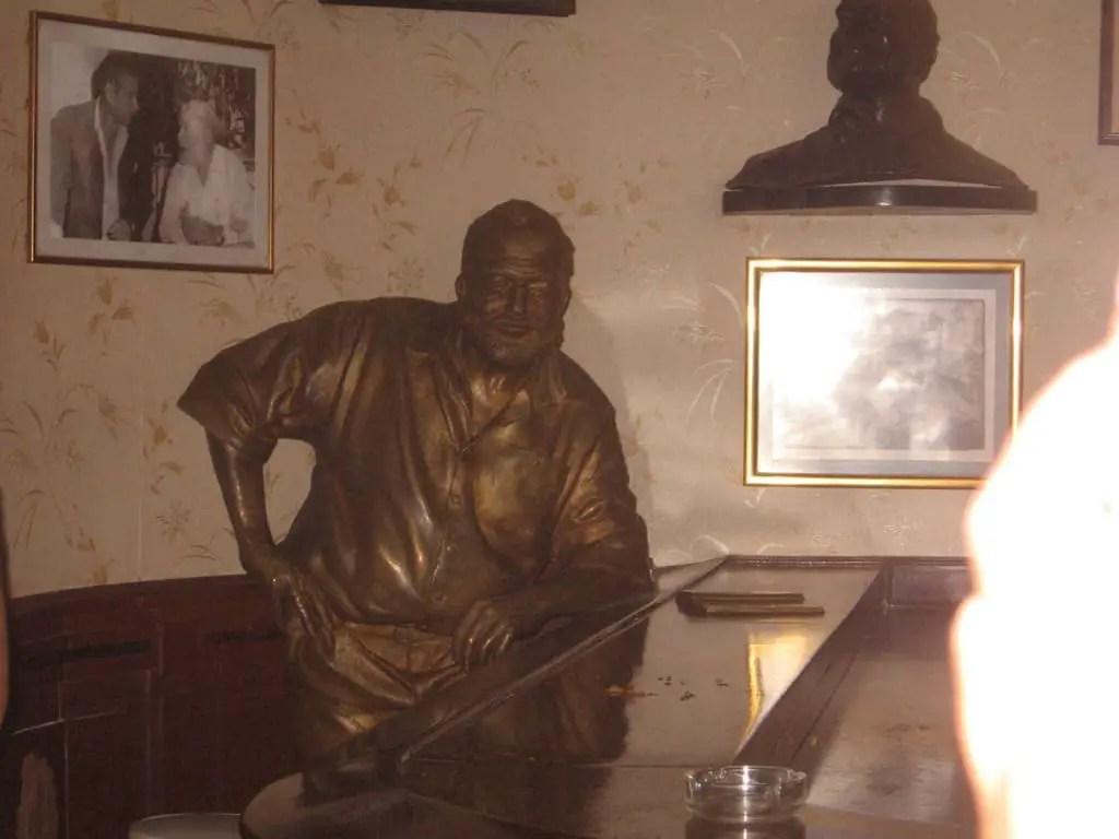 Hemingway Statue Havana Cuba