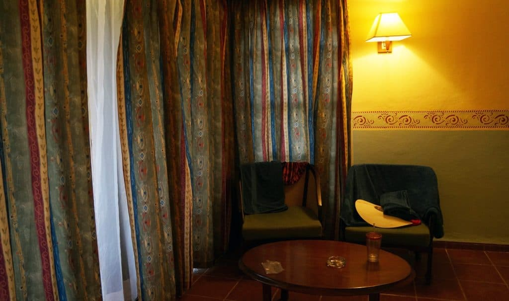 No sitting space in the room as promised Review: Brisas Guardalvaca Cuba