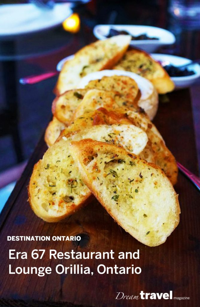 Restaurant Review: Era 67 Restaurant and Lounge in Orillia Ontario. Locally sourced fine dining in the heart of cottage country.