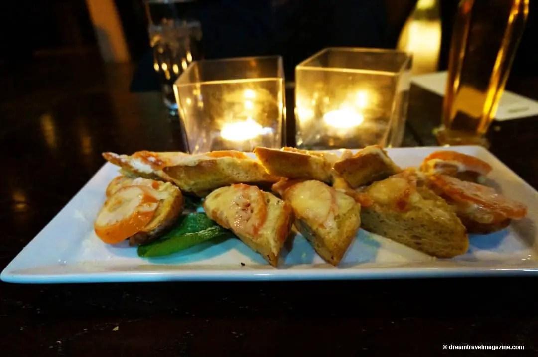 Appetizer The Piazza Restaurant Hamilton Foodie Tour