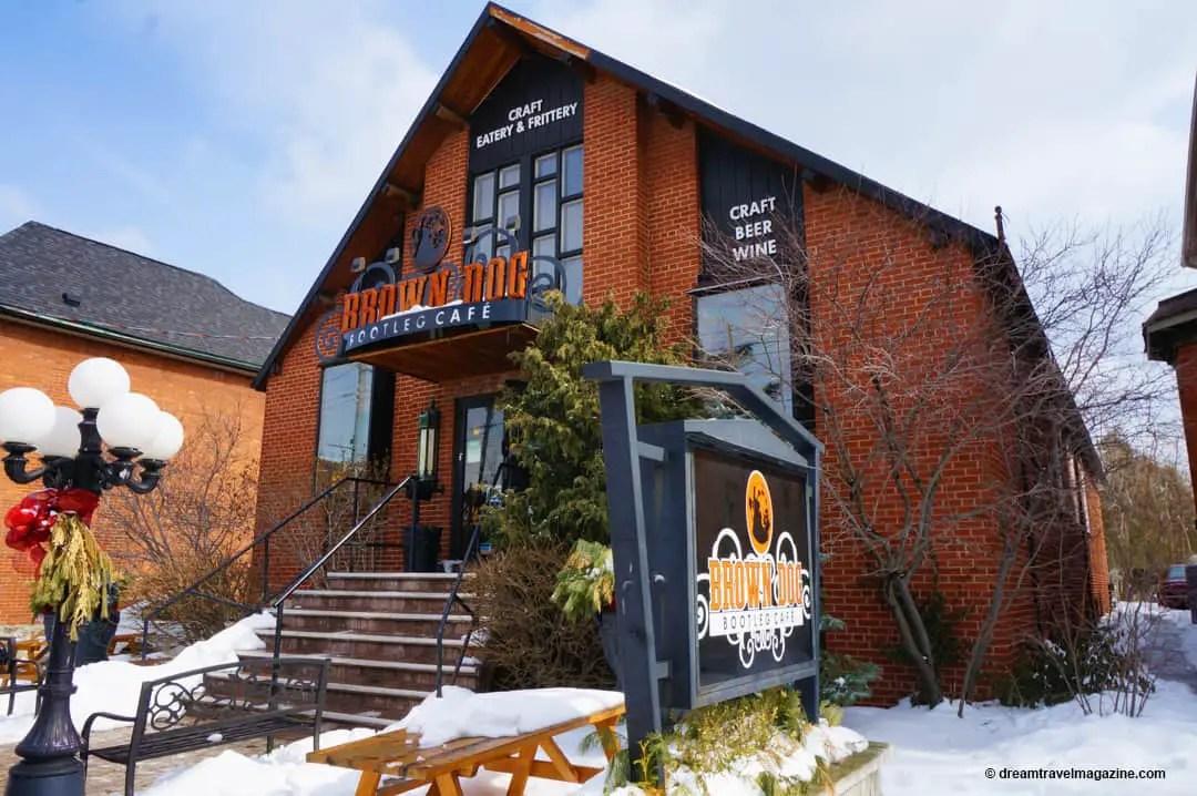 Brown Dog Coffee Shop Hamilton Ontario Food Tour