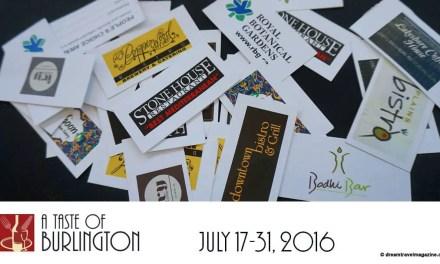 A Taste of Burlington 2016 Serves up Summer Fun
