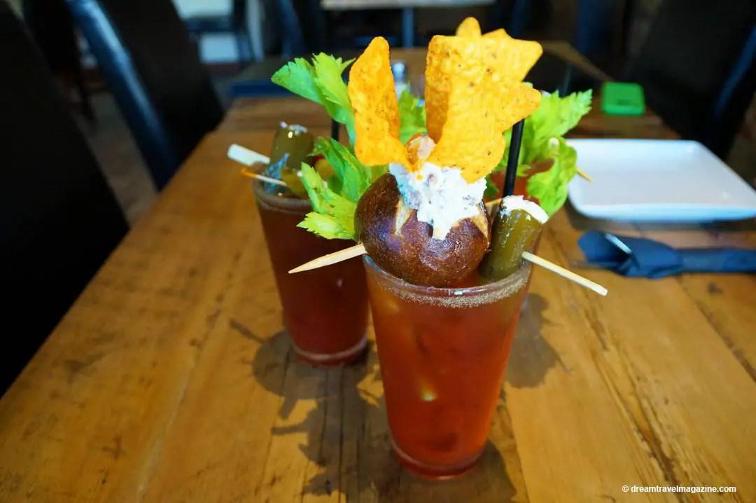 Incredible Caesars Beverage Debbs Cuisine on Queen Dunnville Ontario