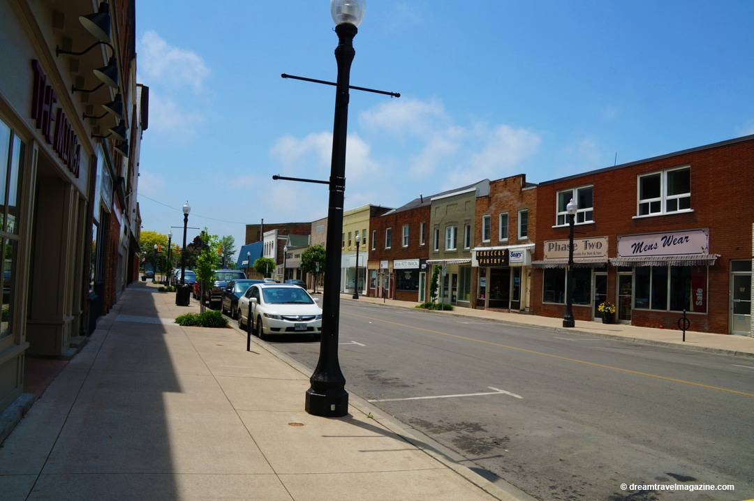Street View Town of Dunnville Ontario Haldimand County