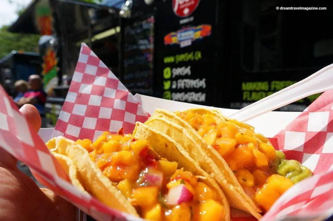 Pesos Food Truck Menu