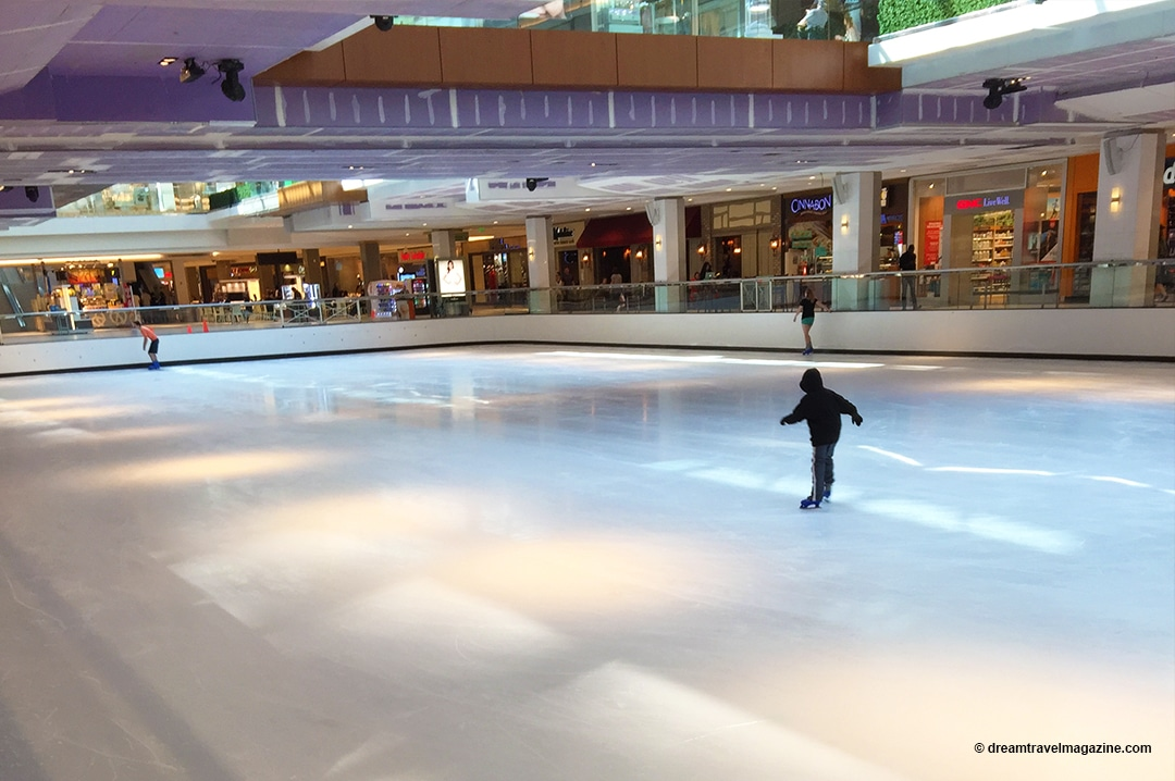 The Galleria Houston Ice Skating