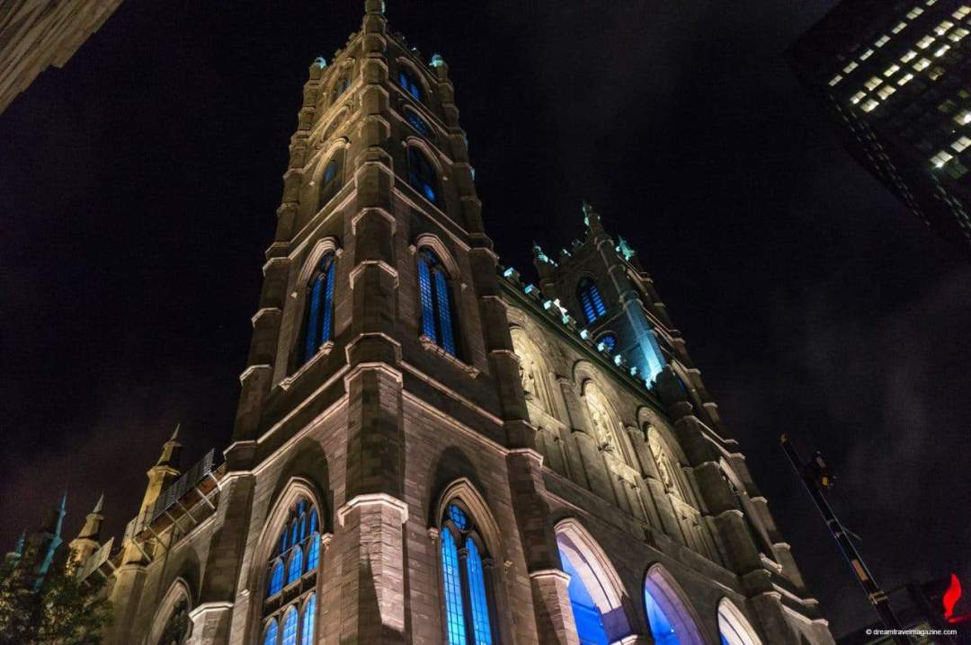 Aura Notre Dame a Magical Light Show in Old Montreal