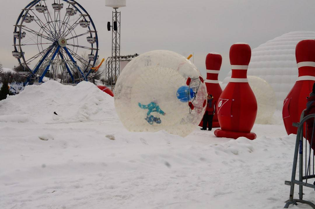 Snow Bowling 10 Things to Do at the Quebec Winter Carnival