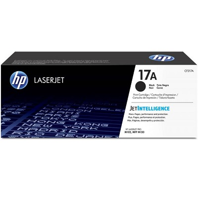 HP 17A Black Toner Cartridge - CF217A
