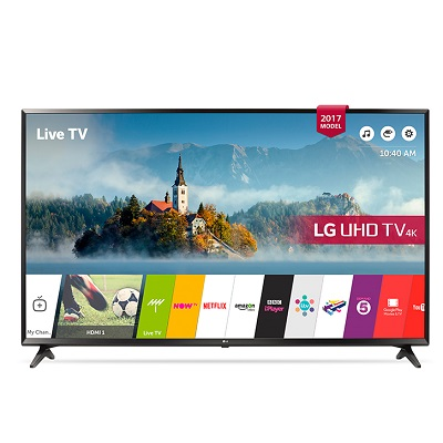 LG UHD 4K Smart With Satellite LED TV 60 Inch - UJ630