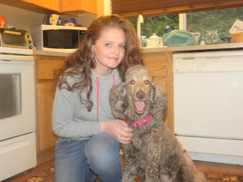 Maddie and Me - F1B Labradoodle from Tippy and Patrick