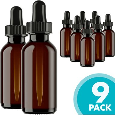 Refillable Bottles for Essential Oils