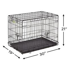 Midwest crates 30 inch for moyen Labradoodle and Aussiedoodle Puppies