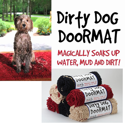 SOGGY DOGGY RUG - DOORMAT FOR DOGS