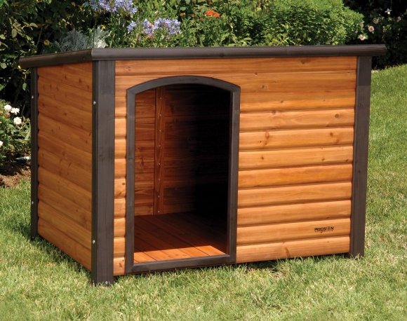 Precision Pet Extreme Log Cabin