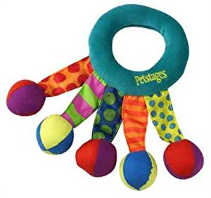 Petstages Toss and Shake Puppy Toy