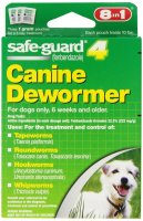 Safeguard for Dogs Dewormer Dosage Chart - Dewormer for Medium Size Dogs and Puppies