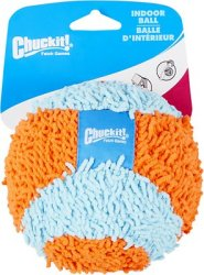 CHUCKIT INDOOR BALL -  DOG TOY