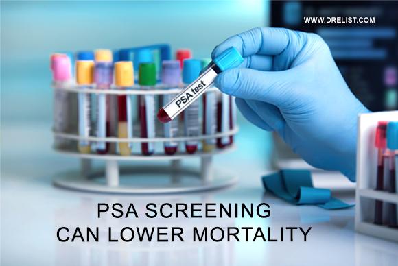 PSA Screening Can Lower Mortality Image