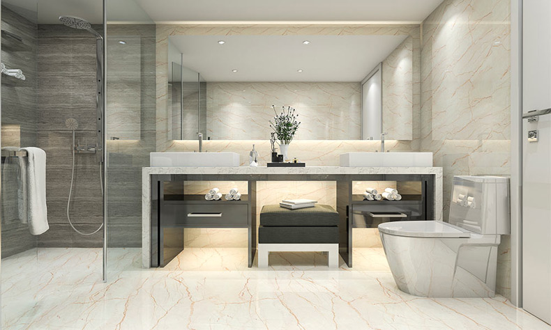 timeless bathroom trends drench