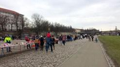 Elbeflohmarkt Dresden Stände
