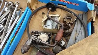 Elbeflohmarkt Dresden Werkzeug