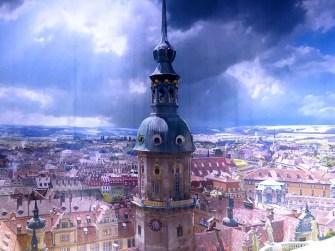 Blick auf Dresden Panometer