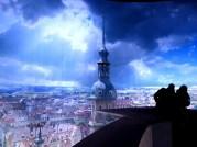 Ansicht aus dem Panometer Dresden