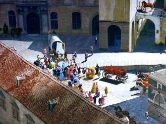 Menschen auf dem Markt